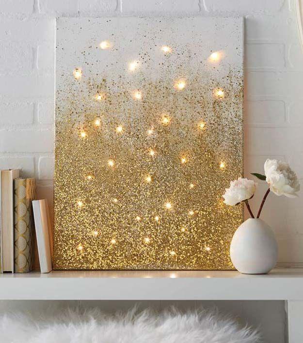 25 Best Ideas About Gold Diy On Pinterest Diy Memo Board