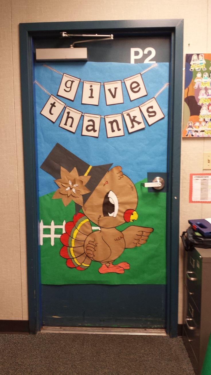 25+ Best Ideas about Thanksgiving Classroom Door on