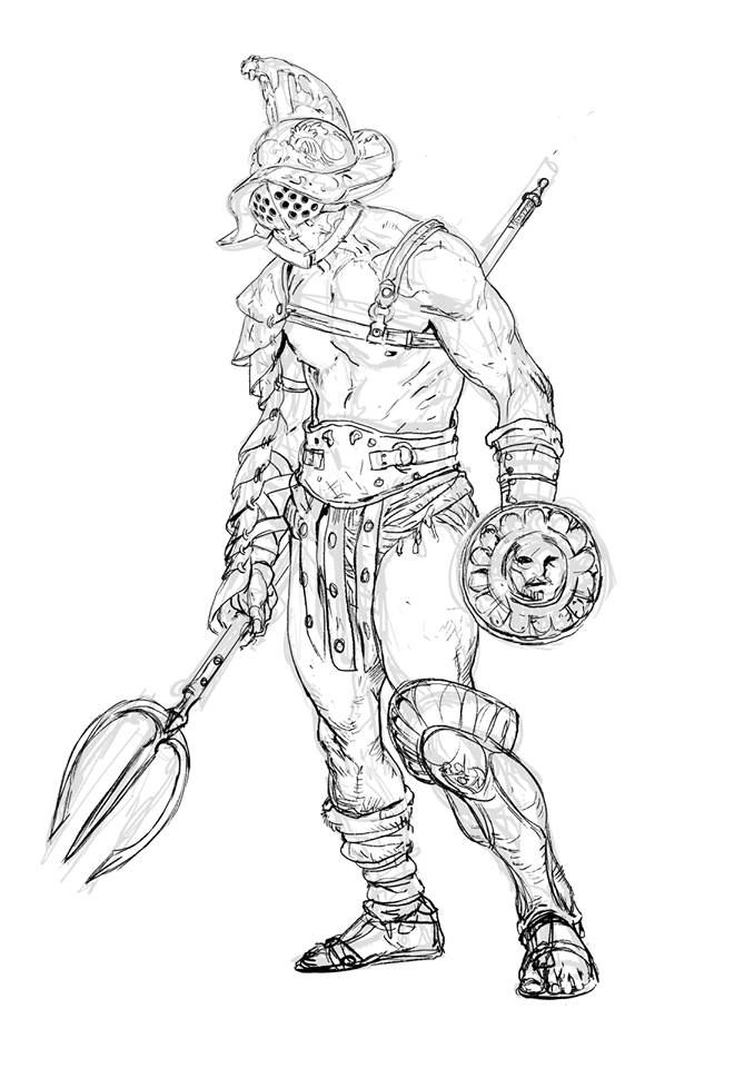 17 Best images about Fantasy (Lineart) on Pinterest