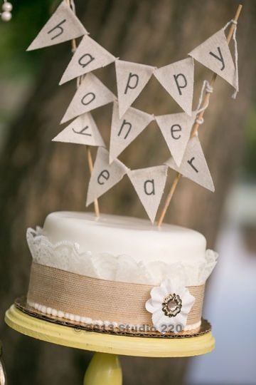 One Year Anniversary Cake Married Life Pinterest