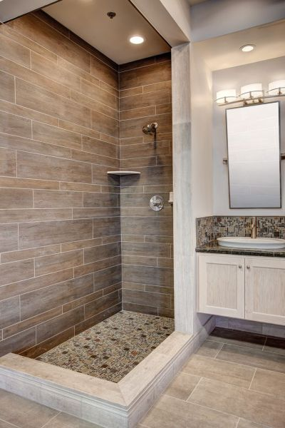 master bathroom tile design ideas Best 25+ Faux wood tiles ideas on Pinterest | Faux wood flooring, Wood tiles and Country bathrooms