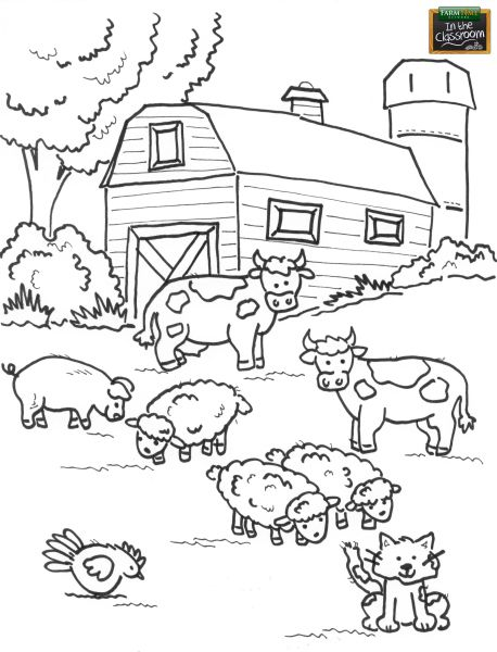 Teach your students about different farm animals! Free