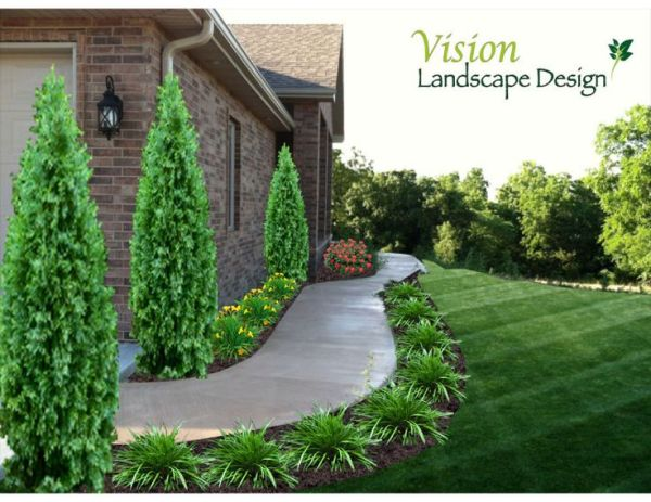 ideas sidewalk landscaping