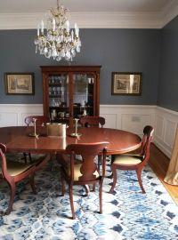 Dining Room Blue Paint Ideas | www.imgkid.com - The Image ...