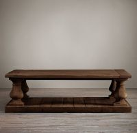Reclaim your living room with the Balustrade Salvaged Wood ...