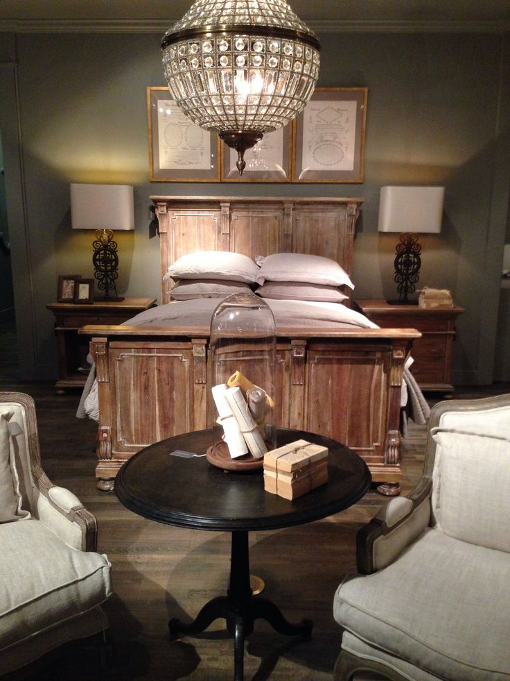 Restoration Hardware Bedroom  Home  Pinterest  Photo restoration Colors and Hardware