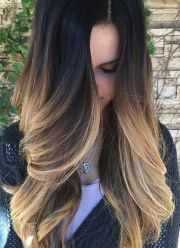 beautiful ombre dyed hair hairstyles