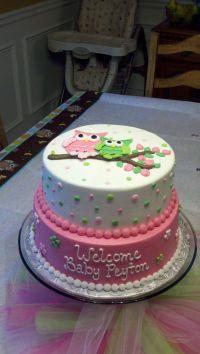 25+ best ideas about Girl shower cake on Pinterest