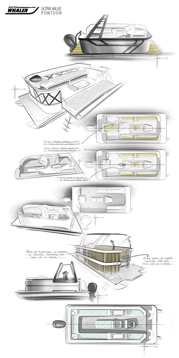 157 best images about Yacht Design Sketches on Pinterest