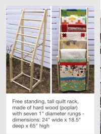 25+ best ideas about Quilt Ladder on Pinterest