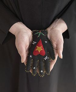 """""""Heart in hand"""", this hand means you extend your hand and heart to another perso"""