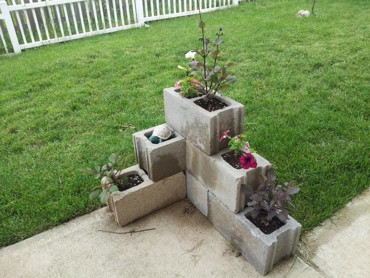 50 Best Images About Garden Hollow Blocks On Pinterest Cinder