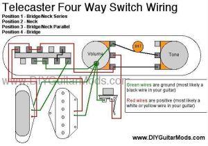telecaster 4 way switch wiring diagram | Cool Guitar Mods