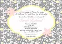 Coed Baby Shower Invitation Wording | Pink and Yellowa ...