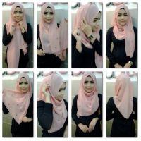 Tutorial Shawl | Jilbab | Pinterest | Hijabs, Hijab ...