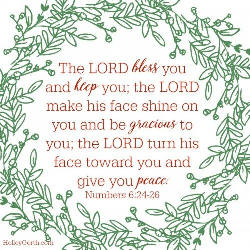 The LORD Bless You And Keep You; The LORD Make His Face