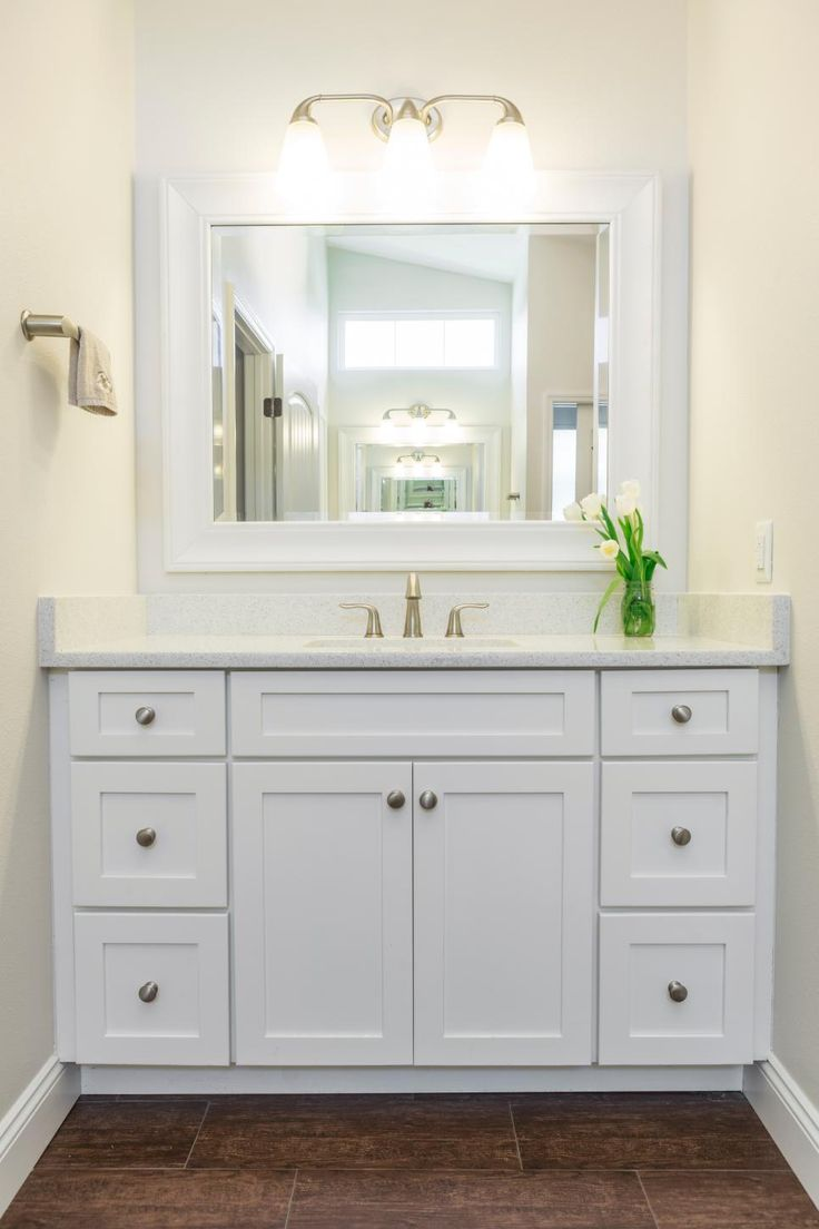 25 best ideas about White Bathroom Cabinets on Pinterest  Double vanity Double sinks and