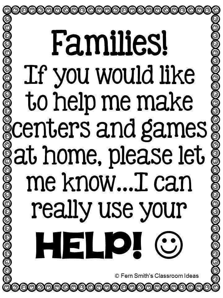 1000+ ideas about Parent Volunteer Form on Pinterest