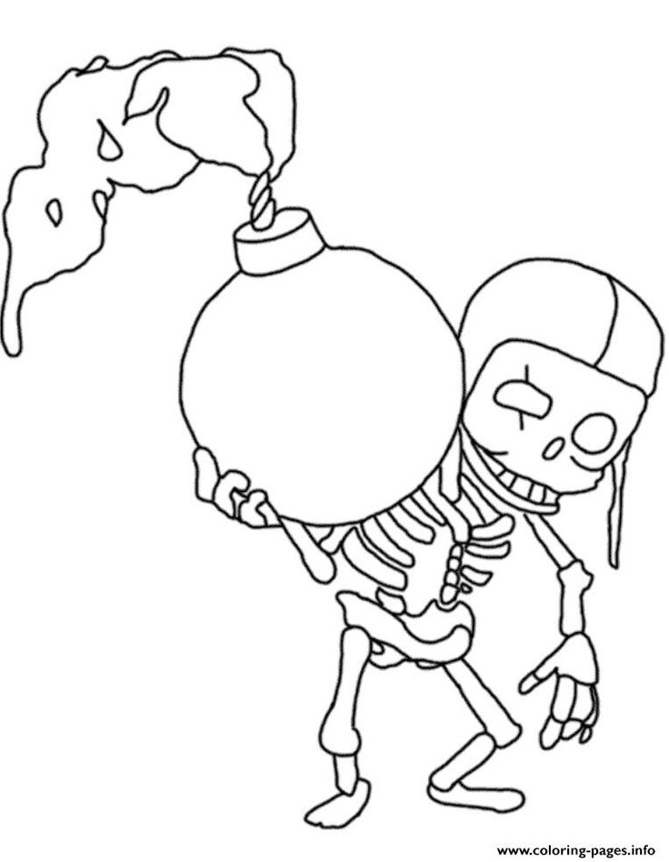 print wallbreaker clash of clans coloring pages  coloring