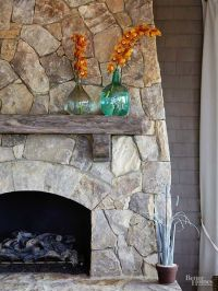 1000+ ideas about Limestone Fireplace on Pinterest | White ...