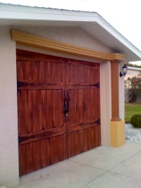 78+ images about Garage Door Mural on Pinterest