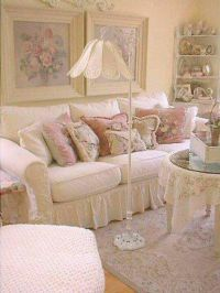 264 best images about SHABBY CHIC ~ LIVING ROOM on ...