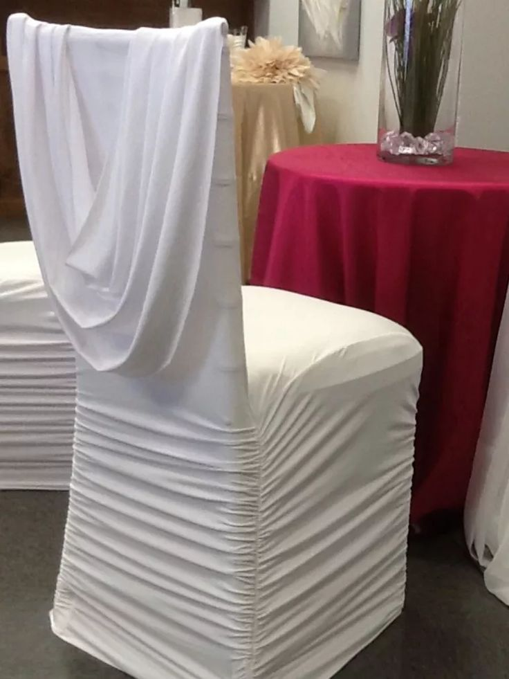 25 best ideas about Chair covers on Pinterest  Wedding