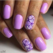 1000 ideas purple gel nails