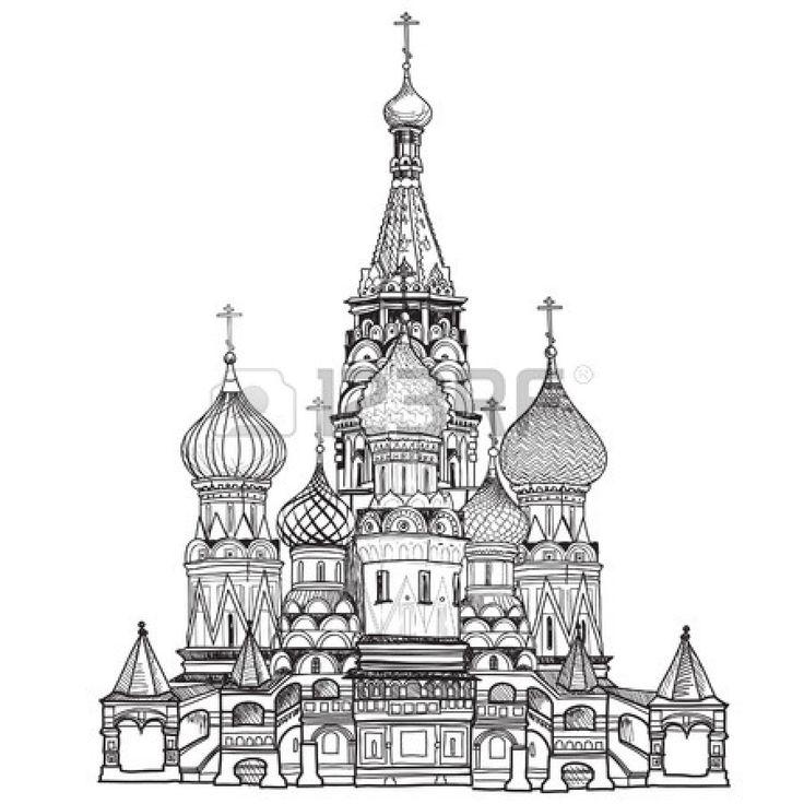 Catedral de San Basilio, la Plaza Roja, Moscú, Rusia