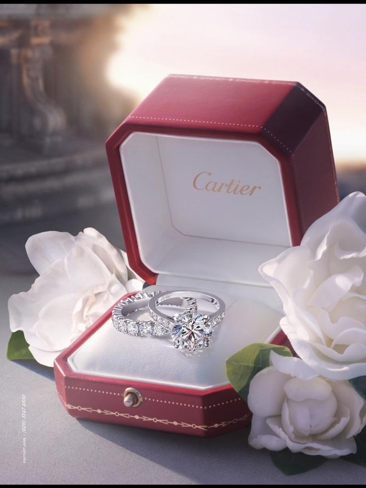 Cartier Engagement Ring Luxury Pinterest Engagement