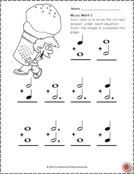 All Worksheets » Note And Rest Values Worksheets