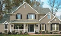 brownstone vinyl siding