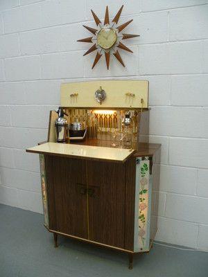 Bar Drinks cabinet and Vintage bar on Pinterest