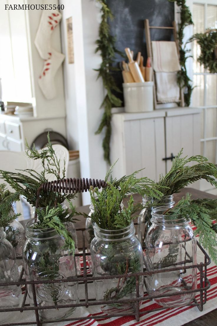 FARMHOUSE Country Style Winter Inspiration Pinterest