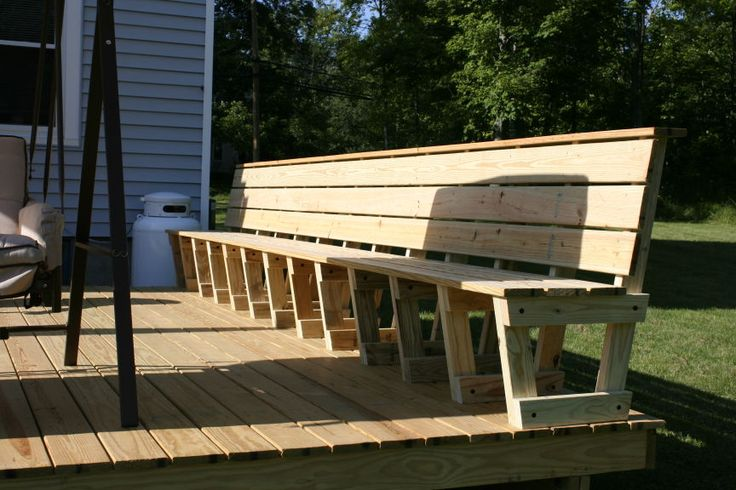 Deck Seating Google Search Lovin The Lake