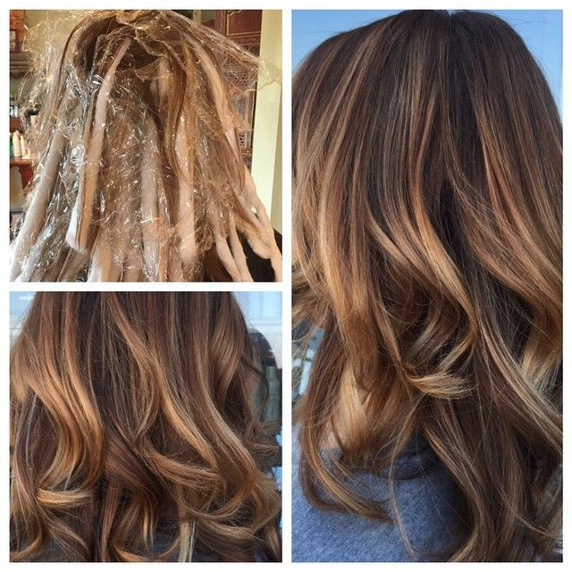 Balayage TechniqueAVEDA Hair Color With Blonde Finish