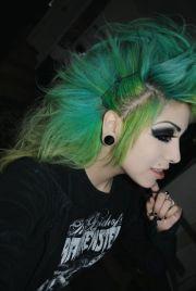ideas goth hairstyles