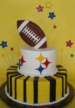 44 Best Images About Pittsburgh Steelers Cakes On