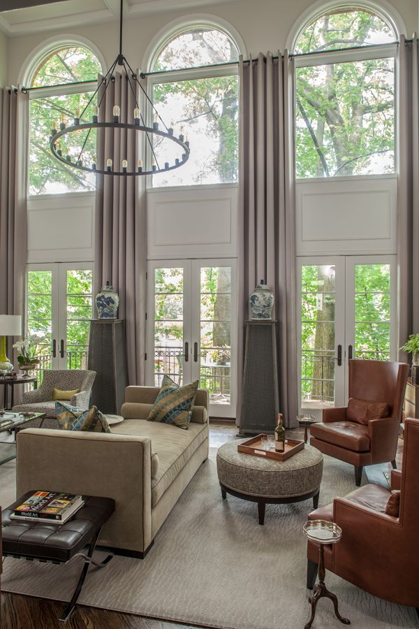 25+ best ideas about Tall Window Treatments on Pinterest