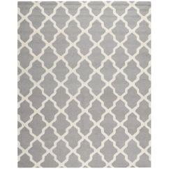 Overstock Sofa Covers Cb2 Cielo Safavieh Handmade Moroccan Cambridge Silver Wool Rug By ...
