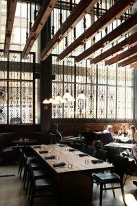 suspended wood trellis   BAKERY   Pinterest   Restaurant ...
