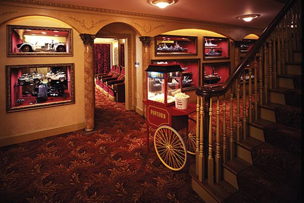 Home Theater Decor Concessions Home Theatre Pinterest