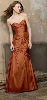17 Best ideas about Copper Dress on Pinterest | Silk skirt ...