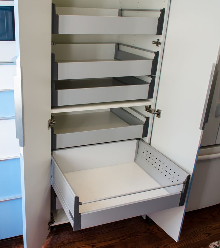 IKEAs 30 pantry cabinet with Blum Tandembox pullout