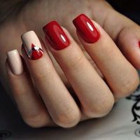 17 Best ideas about Red Nails on Pinterest | Red nail art ...