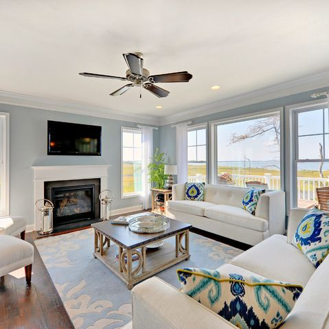 Catalina Living Room Beach Style Living Room Philadelphia Schell Brothers Sherwin