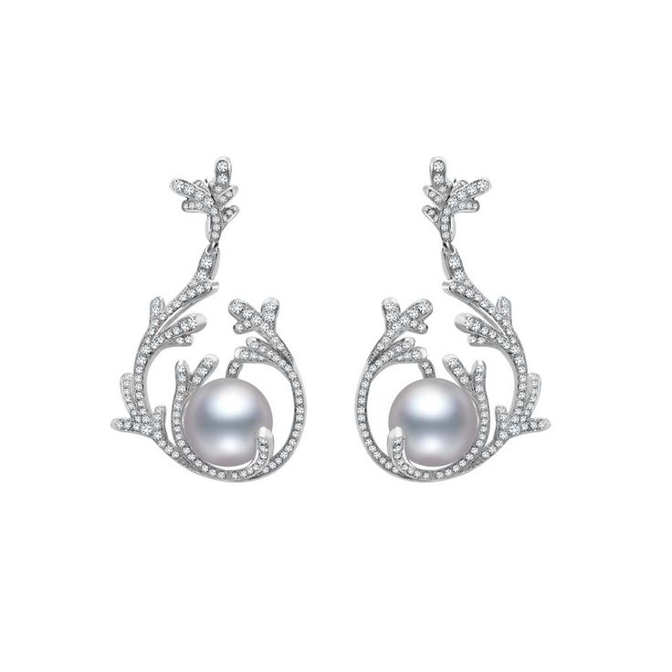 26 best images about Mikimoto earring on Pinterest