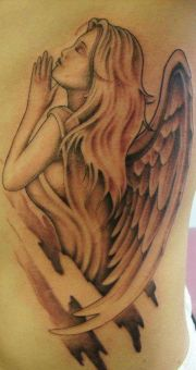 guardian angel tattoo rzeba