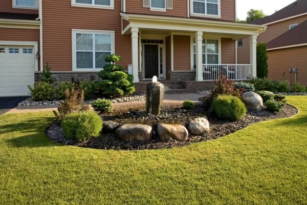 17 Best ideas about Front Entry Landscaping on Pinterest