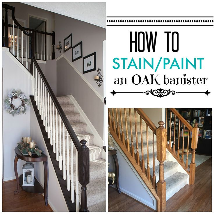 25+ best ideas about Banister remodel on Pinterest